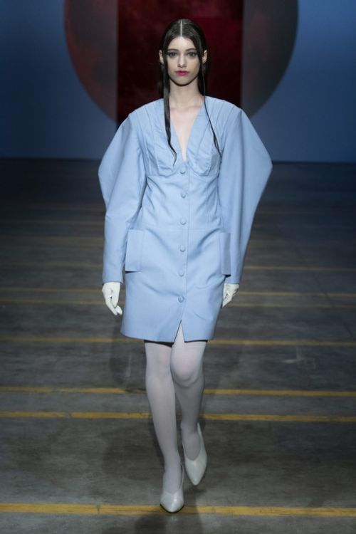 Picture of AW21-22. Light blue dress