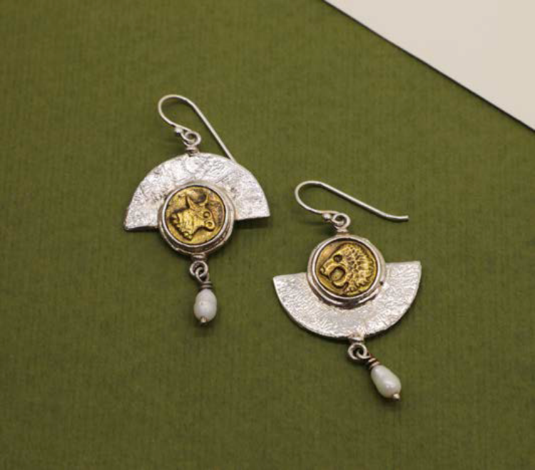 Picture of Treasure from the woods earrings