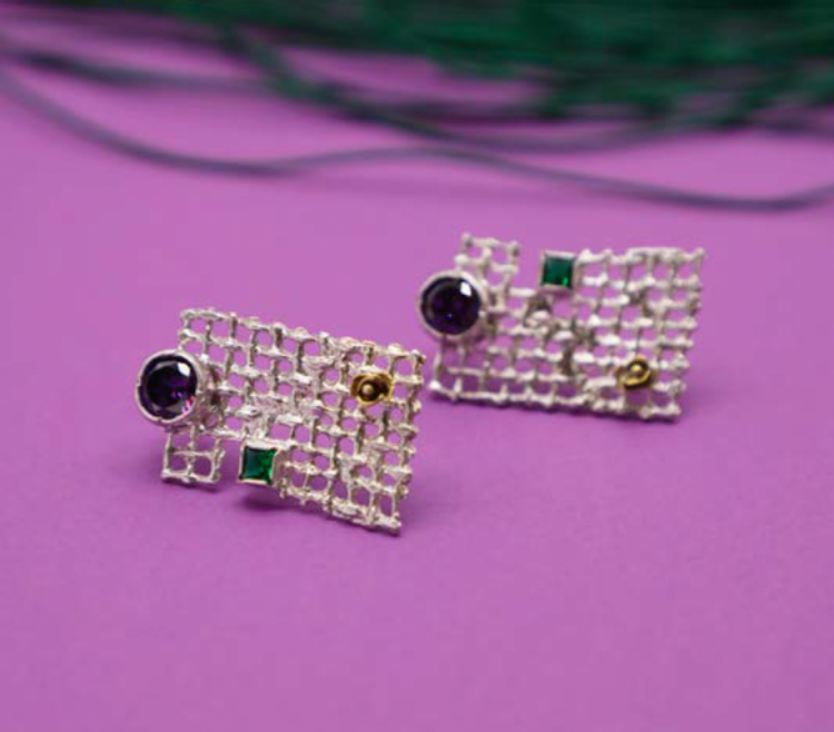 Picture of Grid earrings