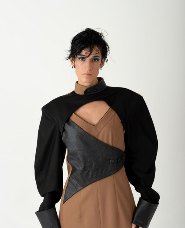 Picture of Black & brown dress