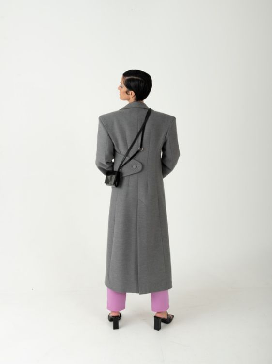 Picture of Light grey coat