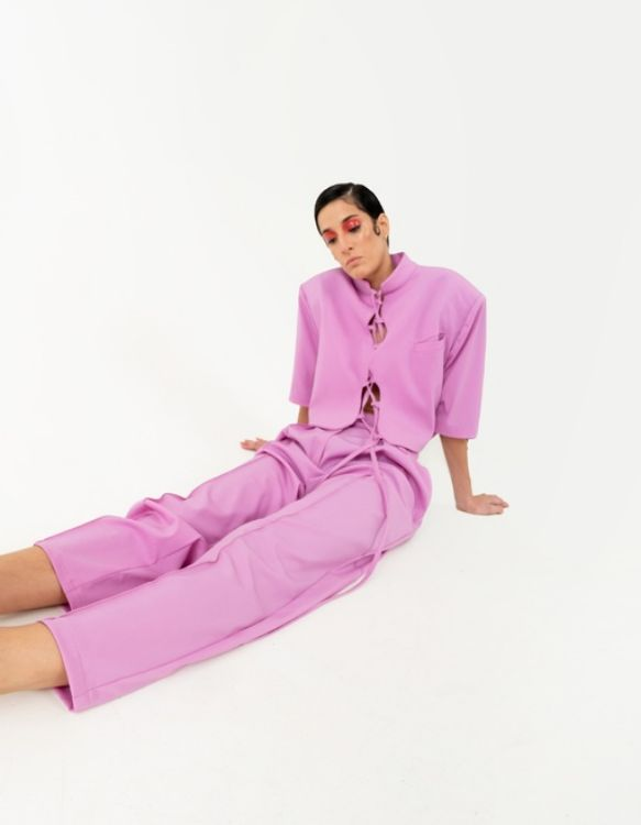 Picture of Classic pink trousers