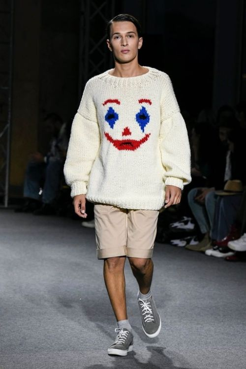 Picture of Joker knitted sweater