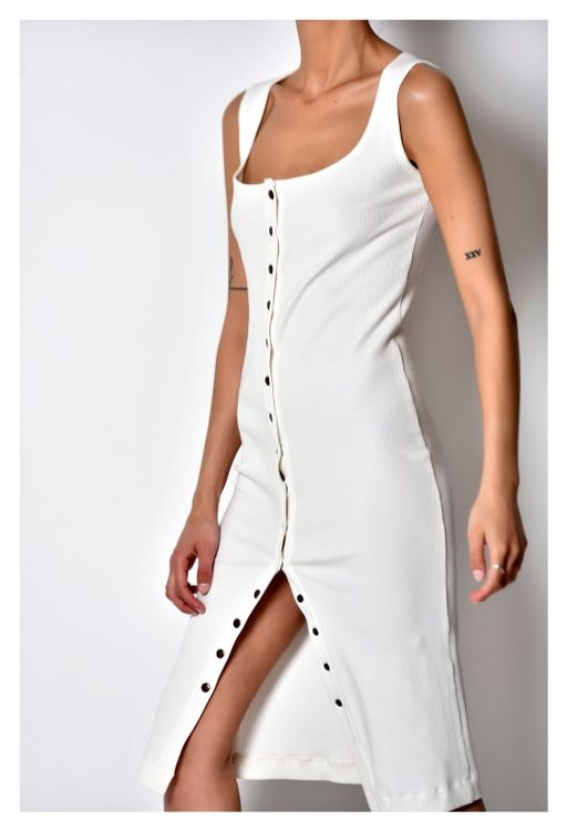 Picture of SUMMER DRESS WITH METAL BUTTONS