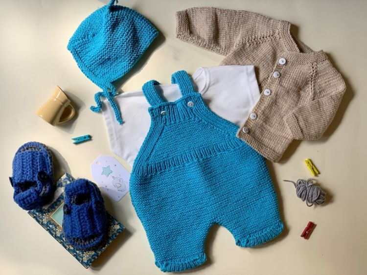 Picture of Knitted jumpsuit with jacket