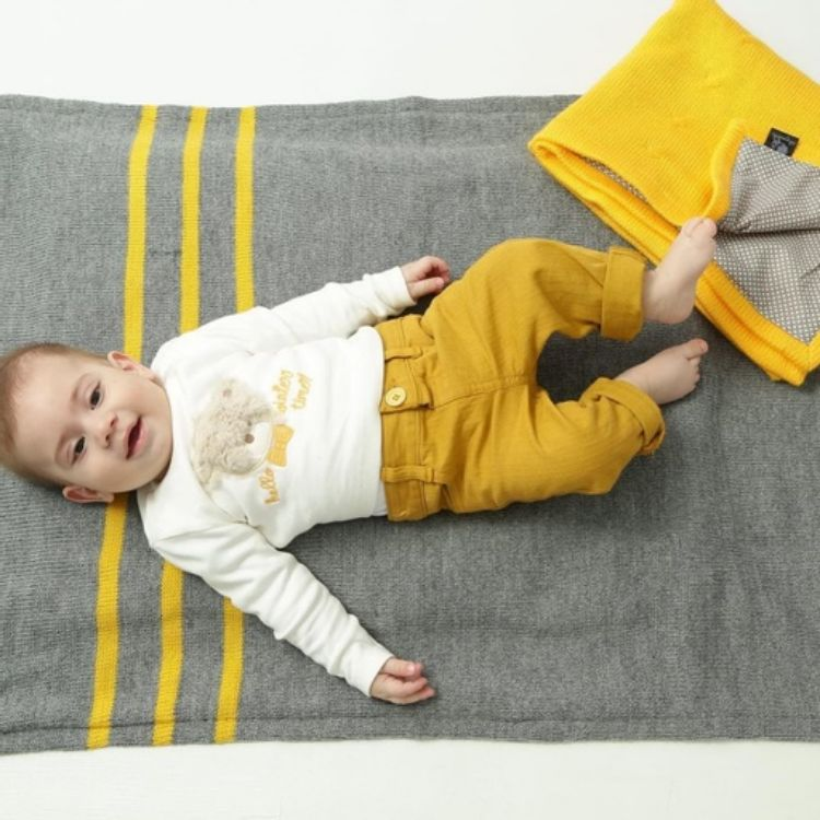 Picture of Baby knitted blanket