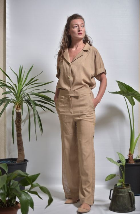 Picture of Linen shirts and trousers