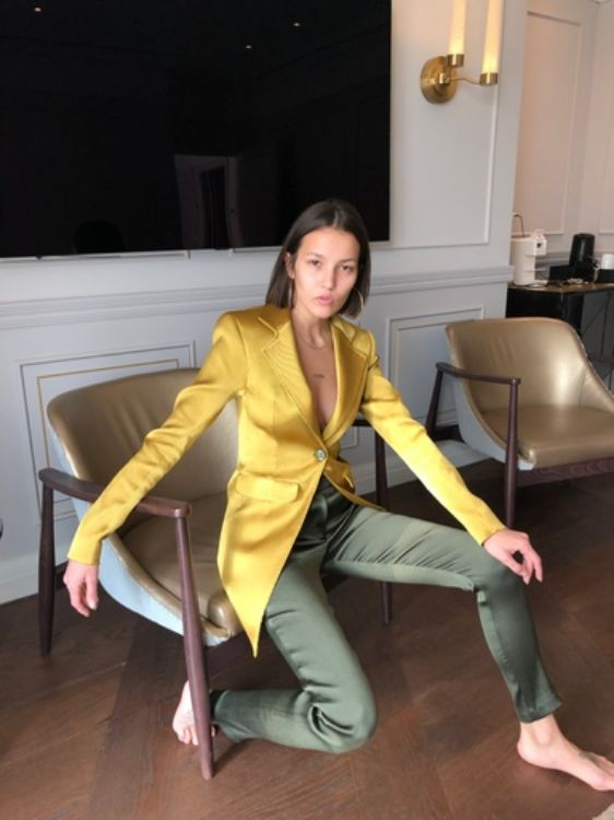 Picture of jacket and trousers